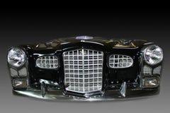 Μπροστινοί προφυλακτήρες λεπτομερειών αυτοκινήτων στοκ φωτογραφίες