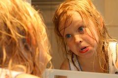μπροστινός καθρέφτης Στοκ εικόνες με δικαίωμα ελεύθερης χρήσης