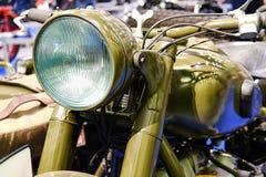 Μπροστινός προβολέας μοτοσικλετών Στοκ εικόνες με δικαίωμα ελεύθερης χρήσης