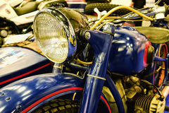 Μπροστινός προβολέας μοτοσικλετών Στοκ εικόνα με δικαίωμα ελεύθερης χρήσης