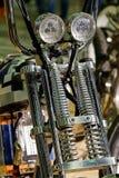 Μπροστινός προβολέας μοτοσικλετών Στοκ φωτογραφία με δικαίωμα ελεύθερης χρήσης