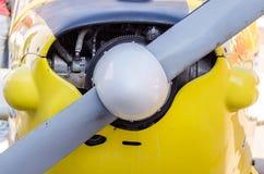 Μπροστινός προωστήρας αεροπλάνων Στοκ Εικόνες