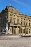 μπροστινό άγαλμα residenz Στοκ φωτογραφία με δικαίωμα ελεύθερης χρήσης