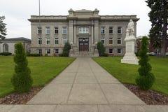 Μπροστινό κέντρο 02 δικαστηρίων κομητειών Walla Ουάσιγκτον Walla Στοκ εικόνες με δικαίωμα ελεύθερης χρήσης