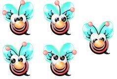 μπροστινό κορίτσι μελισσώ& Στοκ εικόνα με δικαίωμα ελεύθερης χρήσης