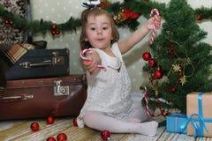 μπροστινό κορίτσι Χριστο&upsil στοκ εικόνα
