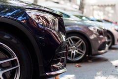 Μπροστινό μέρος των αυτοκινήτων στοκ φωτογραφία με δικαίωμα ελεύθερης χρήσης