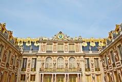 μπροστινό παλάτι Βερσαλλίες προσόψεων Στοκ Φωτογραφία