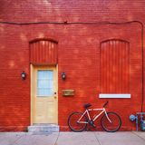 μπροστινό σπίτι Στοκ φωτογραφίες με δικαίωμα ελεύθερης χρήσης