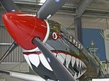 μπροστινό supermarine VIII MK spitfire Στοκ φωτογραφίες με δικαίωμα ελεύθερης χρήσης