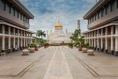 Μπρουνέι - μουσουλμανικό τέμενος του σουλτάνου Στοκ Εικόνα