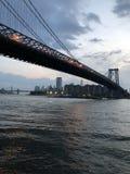 Μπρούκλιν στο Μανχάταν Στοκ φωτογραφία με δικαίωμα ελεύθερης χρήσης