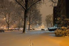 Μπρούκλιν κάτω από το χιόνι στοκ φωτογραφία με δικαίωμα ελεύθερης χρήσης