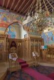 Μπρυζ - εσωτερική του ST Constanstine και της Ορθόδοξης Εκκλησίας της Helena (2007 - 2008) Στοκ Φωτογραφίες