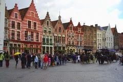 Μπρυζ στο Βέλγιο Στοκ φωτογραφίες με δικαίωμα ελεύθερης χρήσης