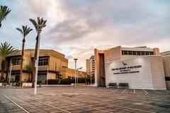 ΜΠΥΡΑ SHEVA, ΙΣΡΑΉΛ - 21 ΙΑΝΟΥΑΡΊΟΥ 2018: Άποψη σχετικά με το συντηρητικό κτήριο στην μπύρα Sheva στοκ εικόνες με δικαίωμα ελεύθερης χρήσης