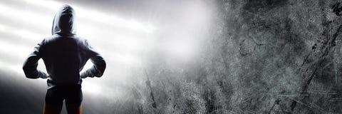 Μπόξερ με τα φωτεινά φω'τα Στοκ εικόνες με δικαίωμα ελεύθερης χρήσης