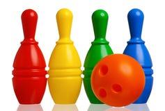Μπόουλινγκ παιχνιδιών Στοκ εικόνα με δικαίωμα ελεύθερης χρήσης