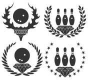 Μπόουλινγκ Στοκ εικόνες με δικαίωμα ελεύθερης χρήσης