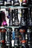 μπότες γοτθικές Στοκ εικόνες με δικαίωμα ελεύθερης χρήσης