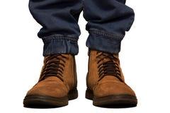 μπότες εργασίας για τους ανθρώπους Στοκ φωτογραφία με δικαίωμα ελεύθερης χρήσης