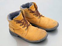μπότες κίτρινες Στοκ φωτογραφίες με δικαίωμα ελεύθερης χρήσης