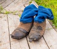 Μπότες κυνηγιού Ilych Στοκ εικόνα με δικαίωμα ελεύθερης χρήσης