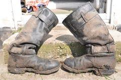 μπότες λασπώδεις Στοκ Εικόνα