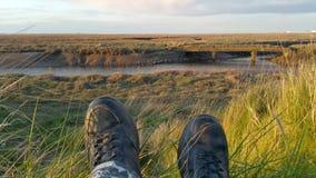 Μπότες με μια άποψη 2 Στοκ Εικόνες