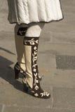μπότες μοντέρνες Στοκ Φωτογραφία