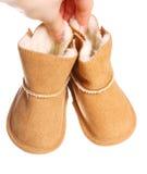 μπότες μωρών Στοκ φωτογραφία με δικαίωμα ελεύθερης χρήσης