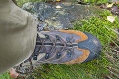 Μπότες οδοιπορίας Στοκ Εικόνες