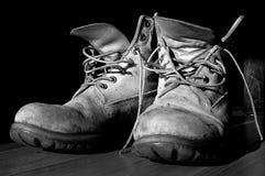 μπότες παλαιές Στοκ εικόνες με δικαίωμα ελεύθερης χρήσης