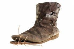 μπότες παλαιές Στοκ εικόνα με δικαίωμα ελεύθερης χρήσης