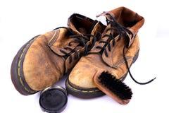 μπότες παλαιές Στοκ Φωτογραφίες