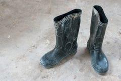 μπότες παλαιές Στοκ Φωτογραφία
