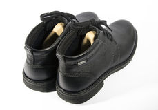 μπότες που απομονώνονται Στοκ Εικόνες
