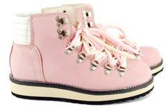 μπότες που το ροζ Στοκ εικόνες με δικαίωμα ελεύθερης χρήσης