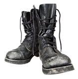 μπότες στρατιωτικές Στοκ Εικόνες