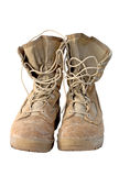μπότες στρατού στρατιωτι&kapp Στοκ Εικόνες