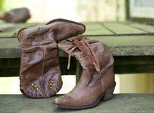 μπότες cowgirl Στοκ εικόνα με δικαίωμα ελεύθερης χρήσης