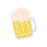 μπύρα γυαλιού ημέρας Αγίου Πάτρικ Στοκ φωτογραφία με δικαίωμα ελεύθερης χρήσης