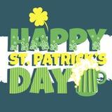 Μπύρα ημέρας Patricks Στοκ εικόνες με δικαίωμα ελεύθερης χρήσης