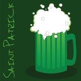 μπύρα ημέρα ο πράσινος Πάτρικ s Στοκ εικόνα με δικαίωμα ελεύθερης χρήσης