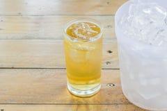 Μπύρα και πάγος στοκ φωτογραφία με δικαίωμα ελεύθερης χρήσης