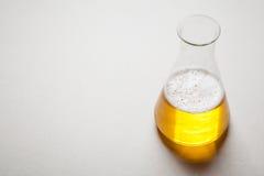 Μπύρα και χημεία στοκ εικόνα