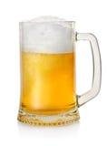 Μπύρα ξανθού γερμανικού ζύού Στοκ Εικόνες