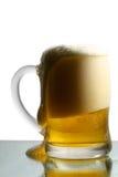 μπύρα που απομονώνεται Στοκ φωτογραφία με δικαίωμα ελεύθερης χρήσης