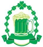 μπύρα πράσινη Στοκ Φωτογραφίες