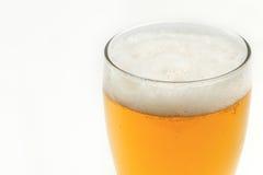 Μπύρα στο γυαλί Στοκ φωτογραφίες με δικαίωμα ελεύθερης χρήσης